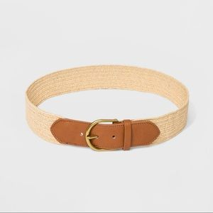 Universal Thread Stretch Belt Papaya Beige